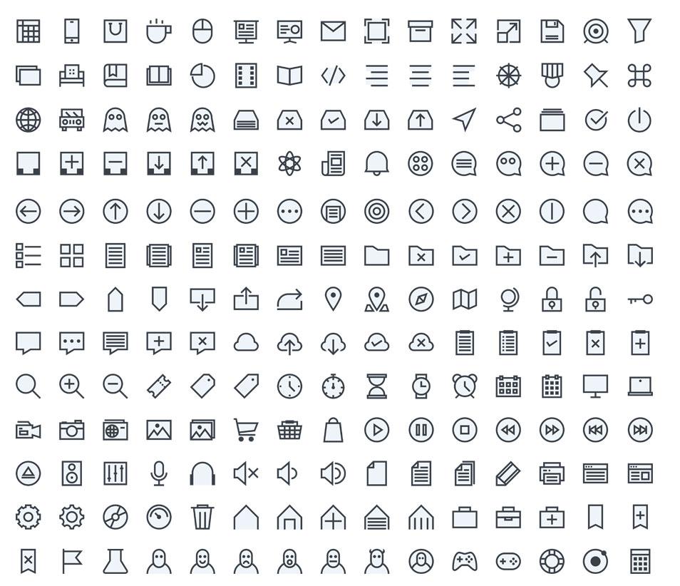 195 iOS 7 Icons