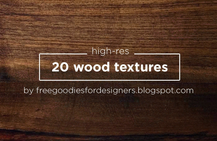 20 High Res Wood Textures