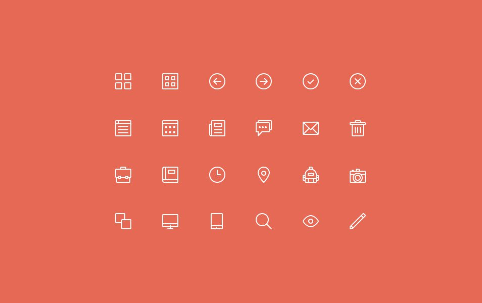 24 Free Skinny Icons