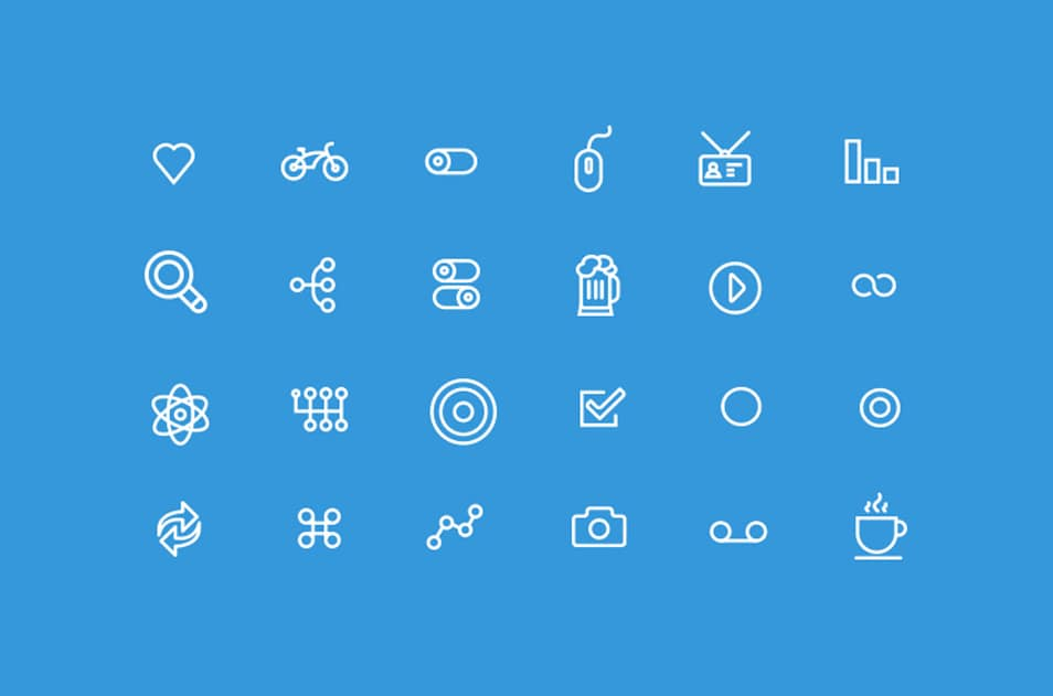 250+ Ultimate Collection Of Free Line Icon Sets » CSS Author