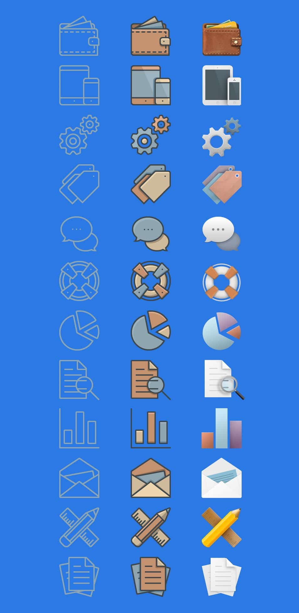 36 Free Business Icons