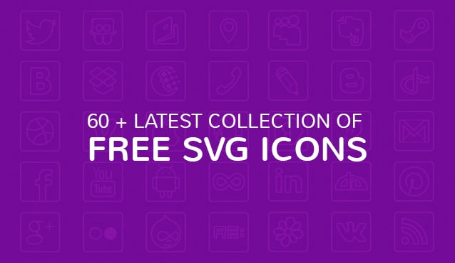 60 + Latest Collection of Free SVG Icons
