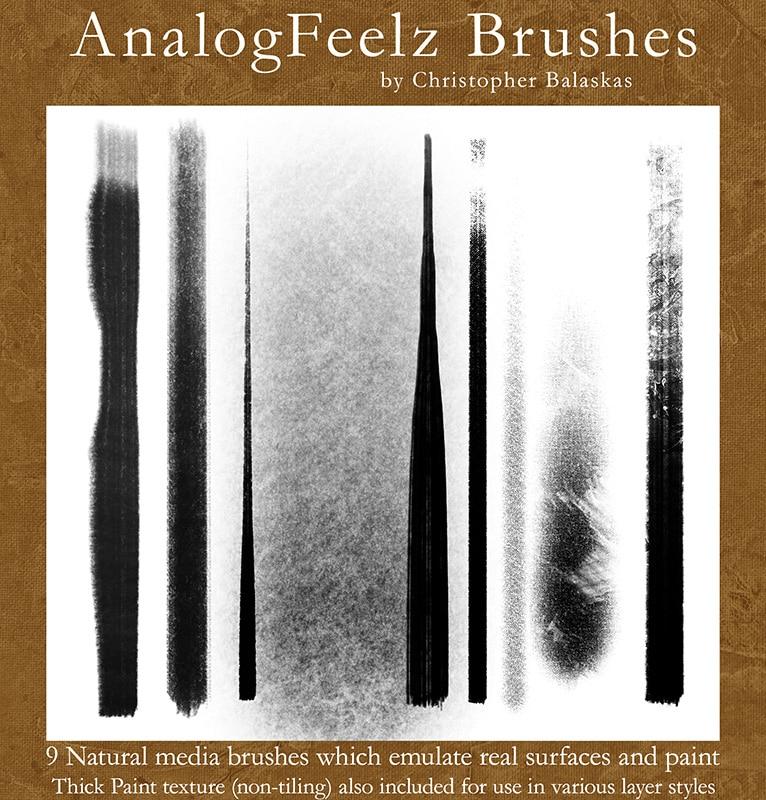 AnalogFeelz Brushes