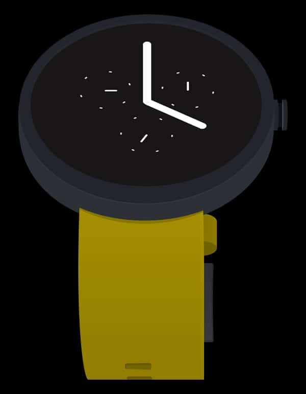 Android Wear - Flat Design UI