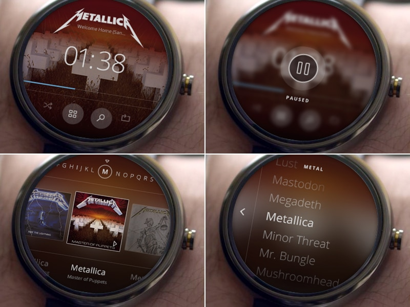 Android Wear Music Library