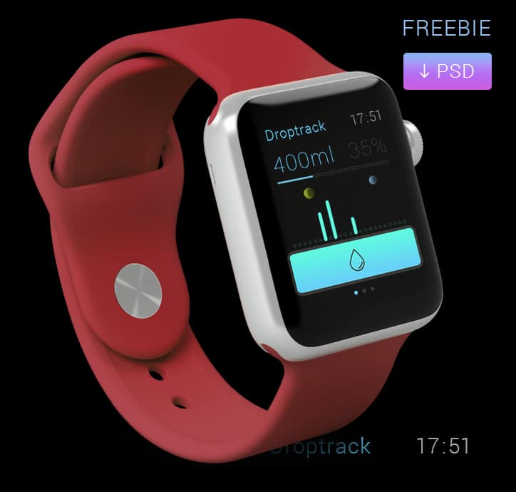 Apple Watch App Free PSD