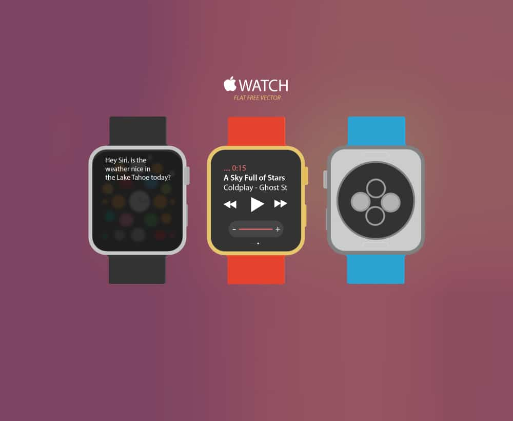 Apple Watch Free Vector