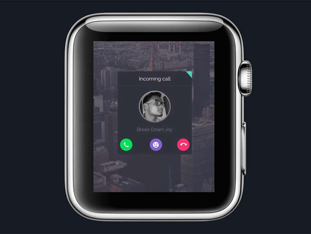 Apple Watch Fun Experiment Free PSD