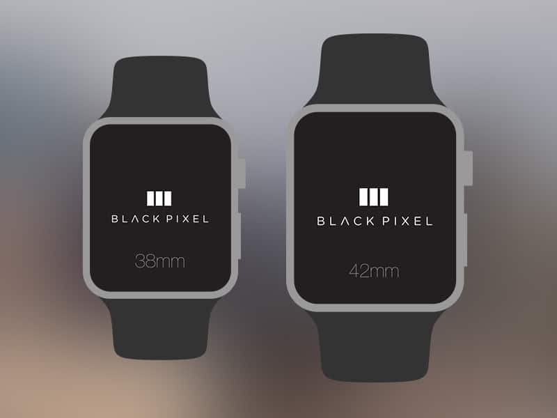 Apple Watch Template PSD