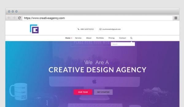 Browser Mockup Designs PSD
