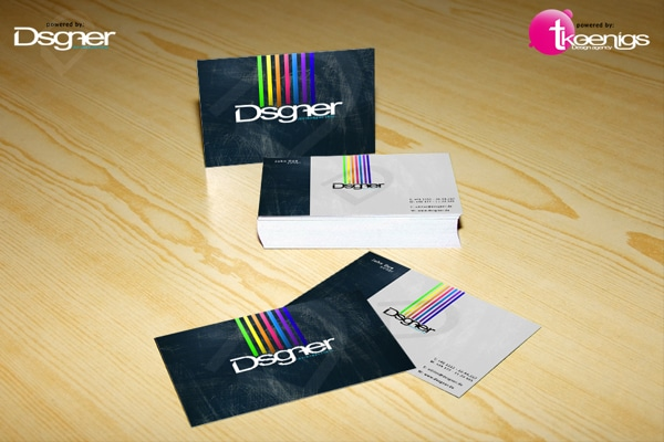 Business Card Mock Up 7