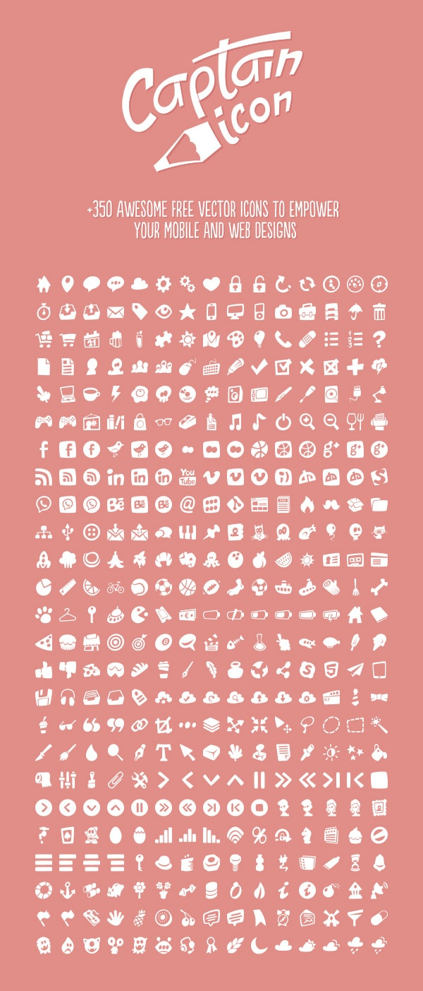 Captain Vector Icons