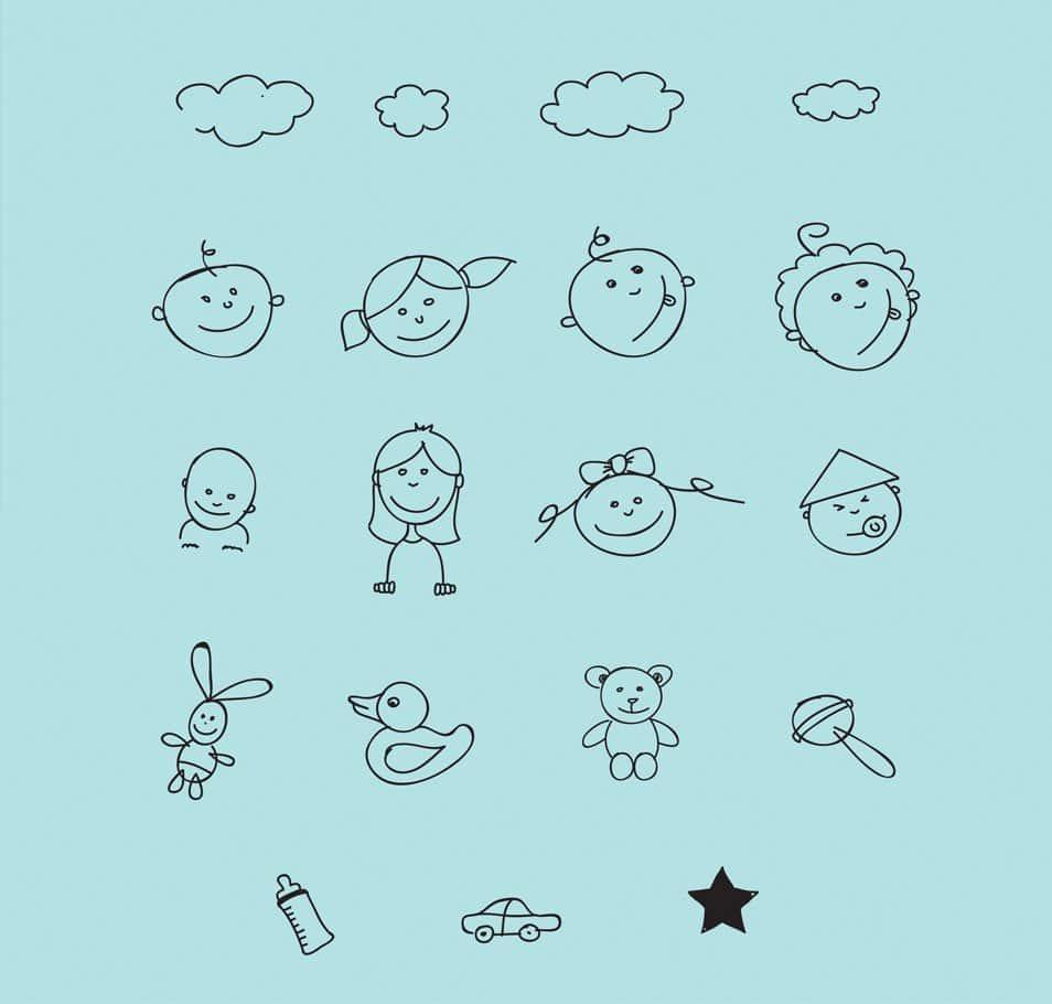 Children Handmade Doodles