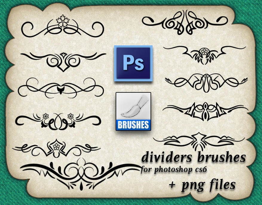 Dividers Brushes