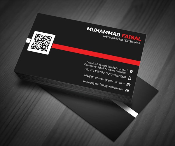 Elegant & Clean Business Card Mock Up