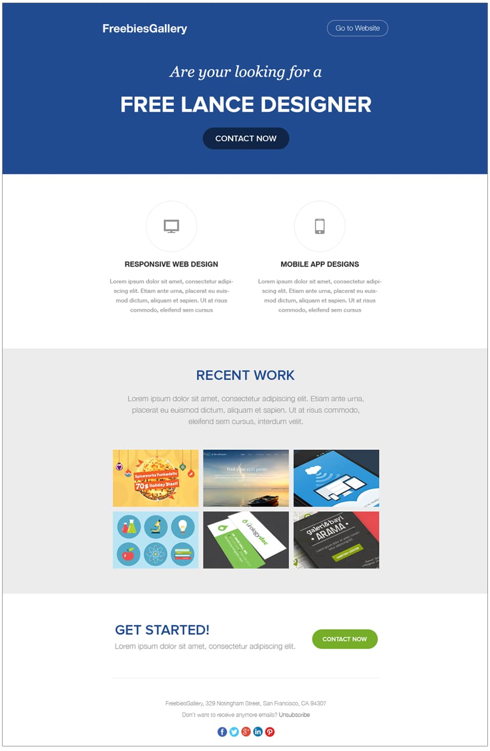 Free Email Newsletter Templates PSD » CSS Author