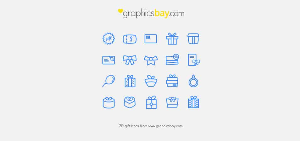 Exclusive 20 gift icons