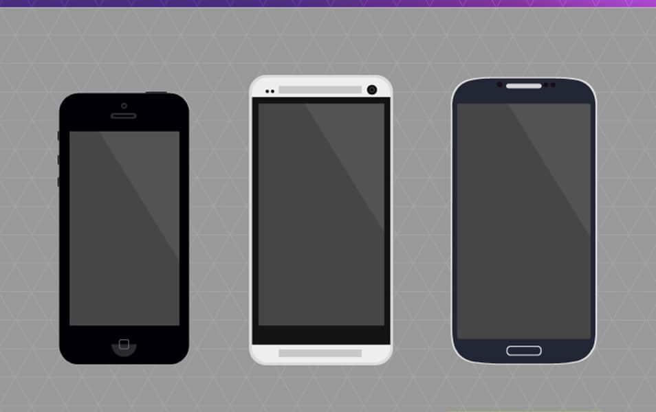 Flat Phones