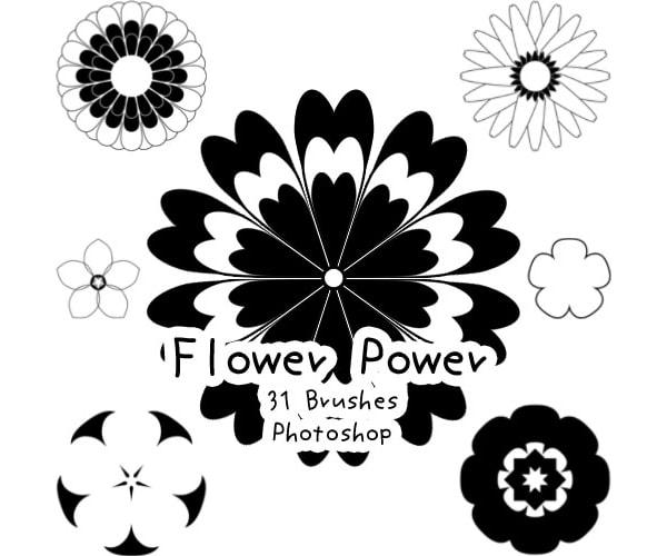 Flower Power Brushes