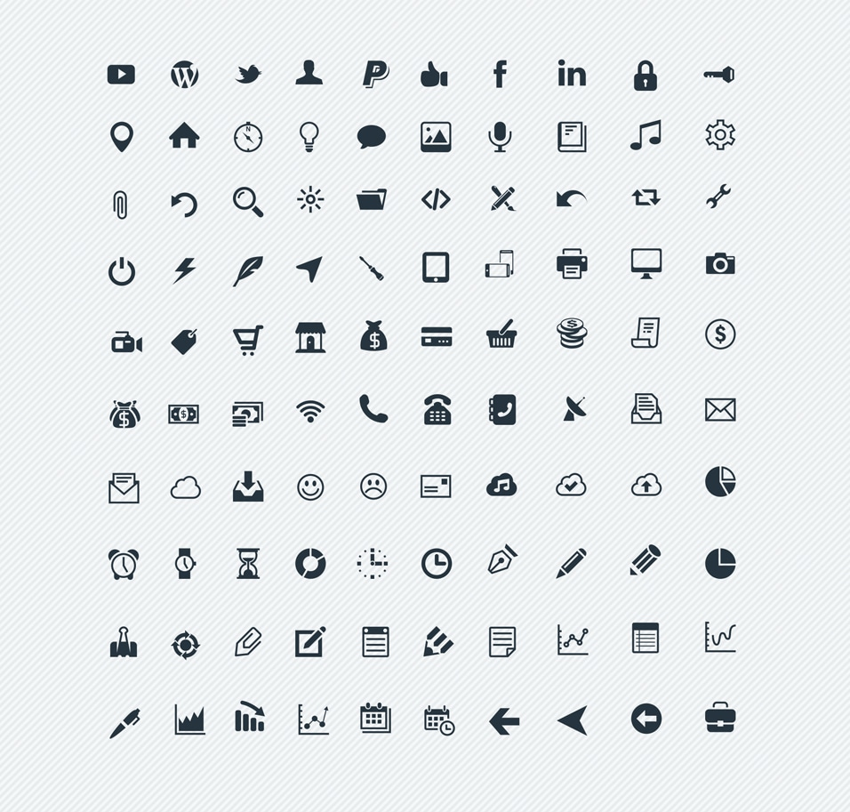 Free 100 Vector Icons