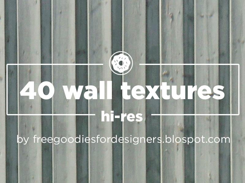 Free 40 hi-res Wall Textures