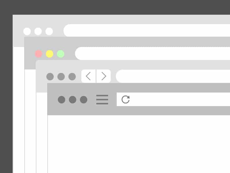 Free Browsers Flat Template