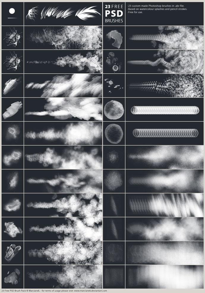 Free Brushes For Adobe Photoshop