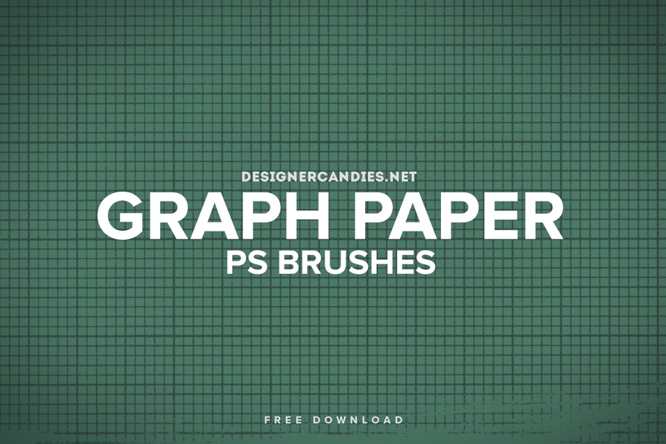 Free Graph Paper Brush Set