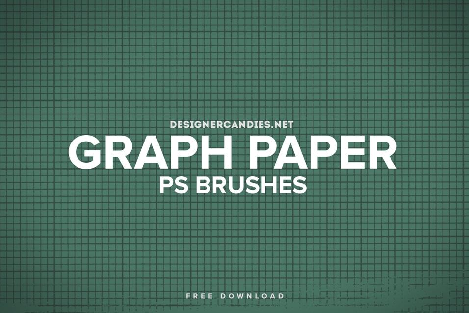 Free Graph Paper Brush Set
