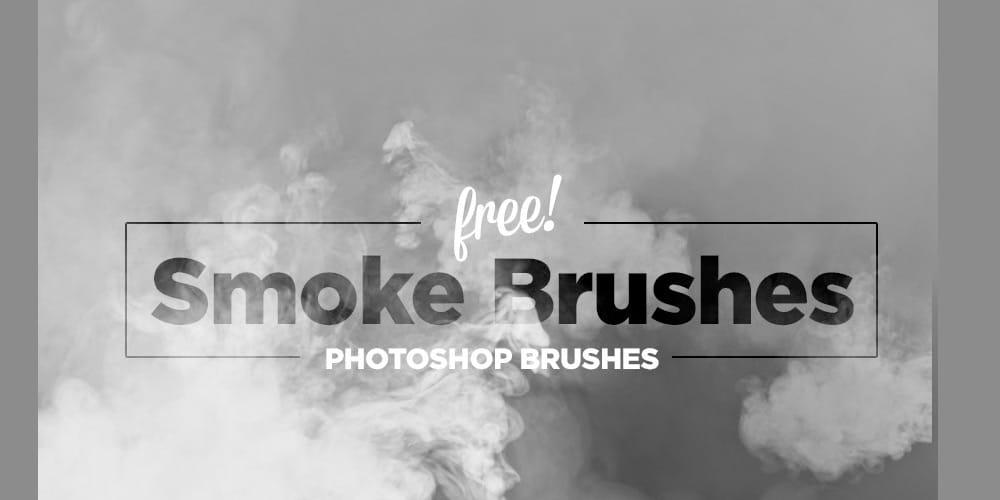 Free Hi res Smoke Photoshop Brushes