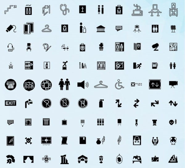 Free Museum Icons