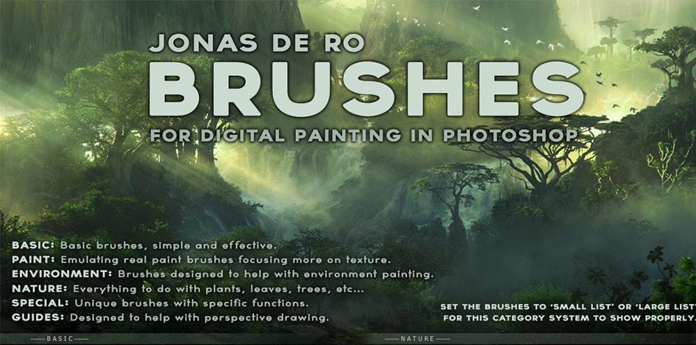 Free Photoshop Gimp Brushes