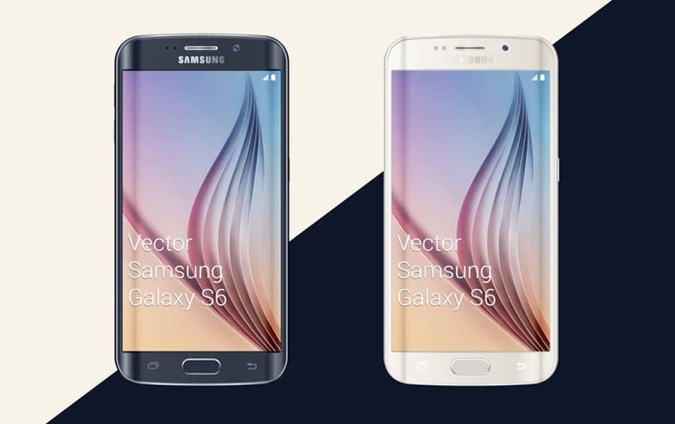 Free Samsung Galaxy S6 Mockup