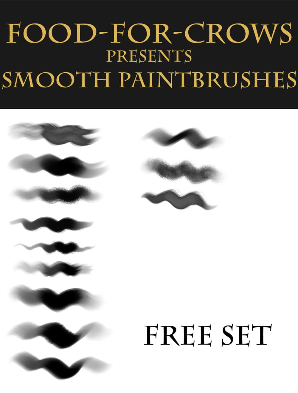 Free Smooth Paint Brushes