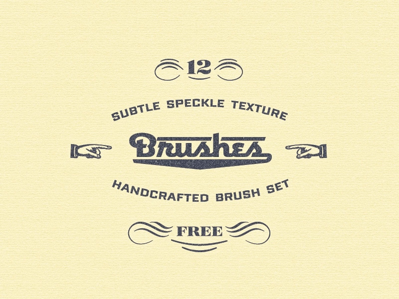 Free Speckle Brushes