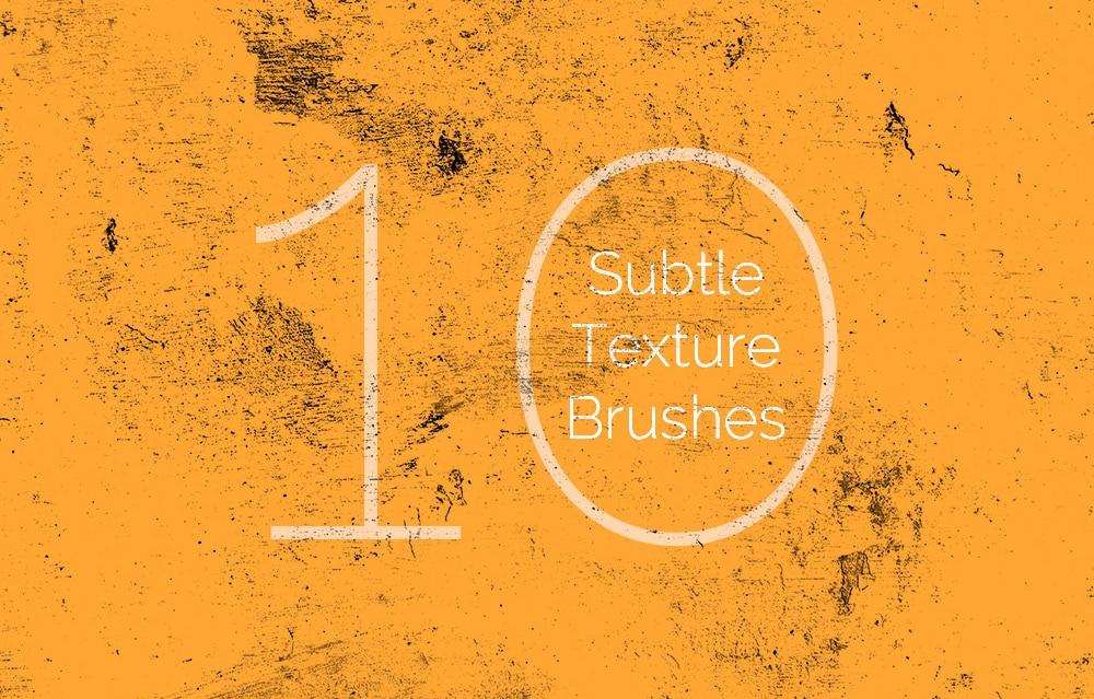 Free Subtle Texture Brushes