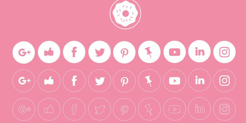Free Vector Social Media Icons