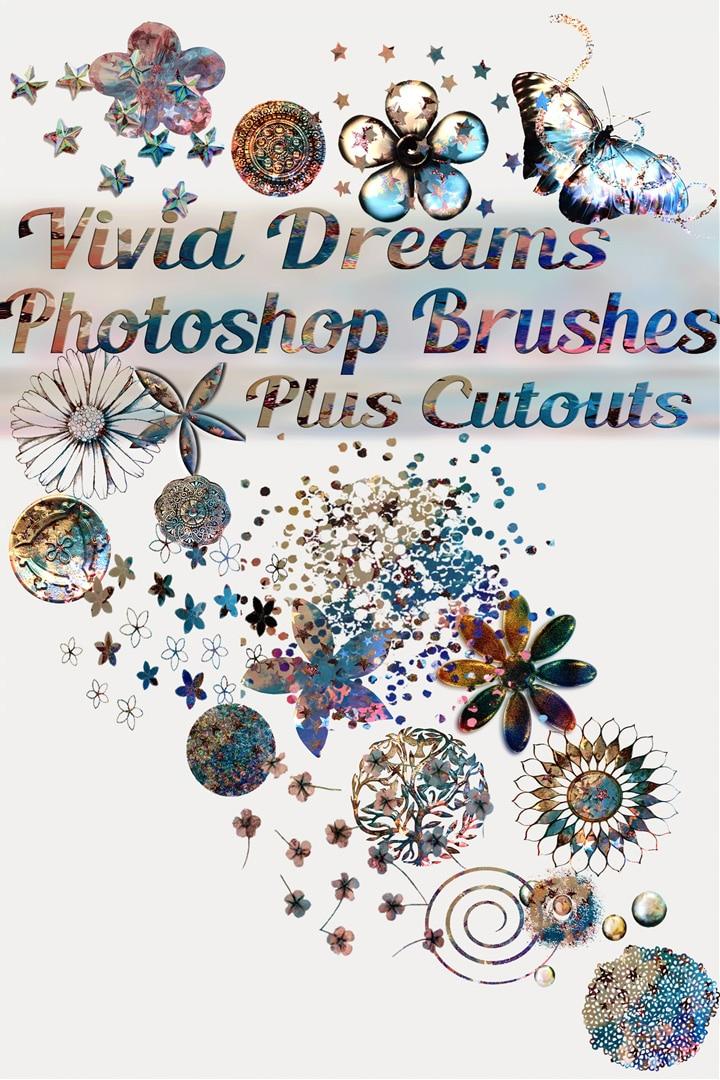 Free Vivid Dreams Photoshop Brushes