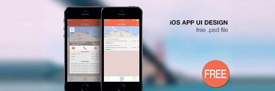 Free-iOS-App-Design-UI-PSD