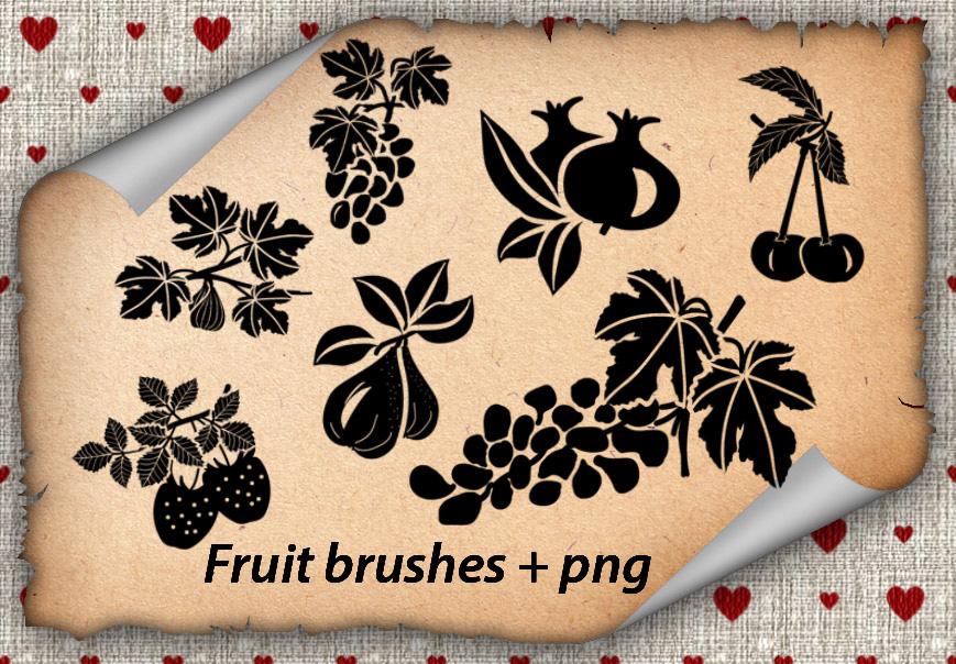 Fruit Brushes
