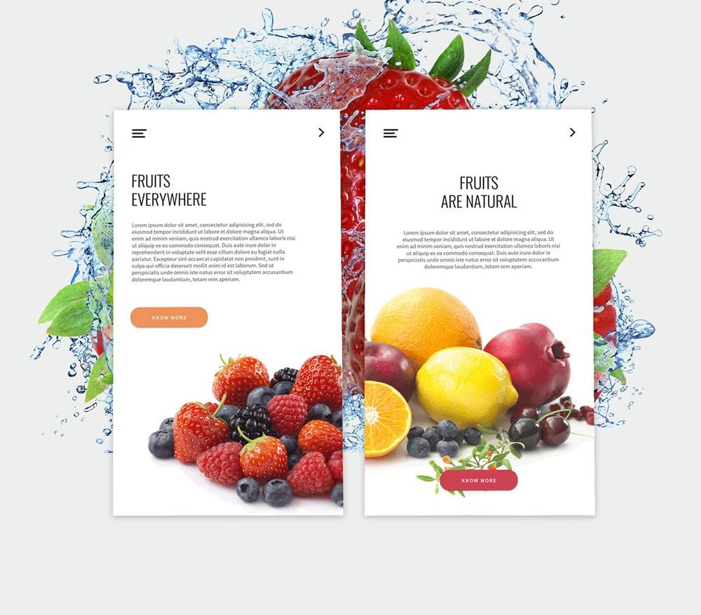 Fruitos-Creative-App-UI-PSD