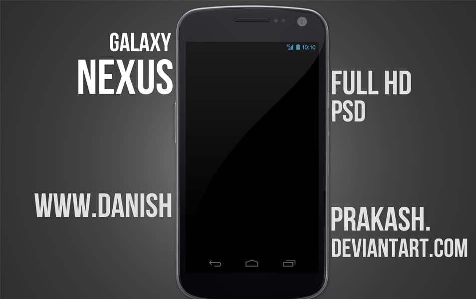 Galaxy Nexus psd