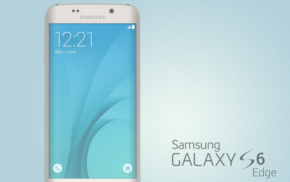 Galaxy S6 Edge Mockup