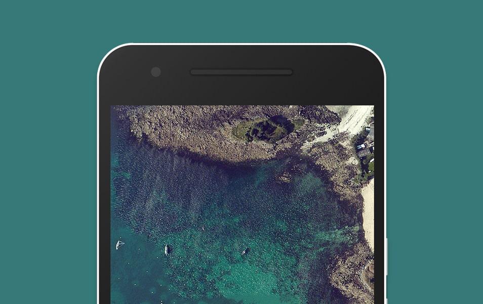 Google Nexus 6P Flat Mockup