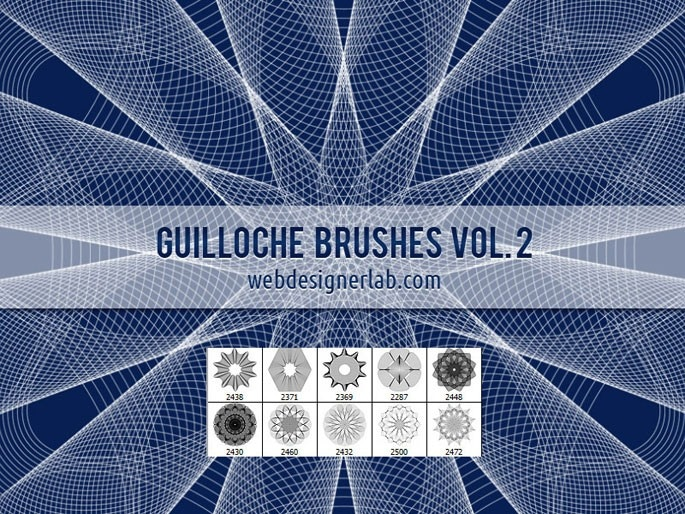 Guilloche Brushes