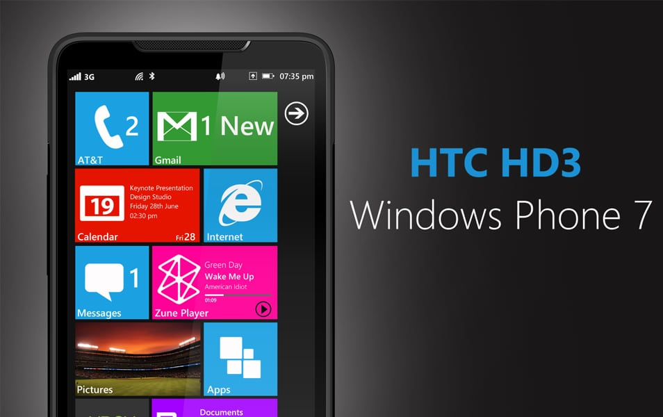 HTC HD3 PSD