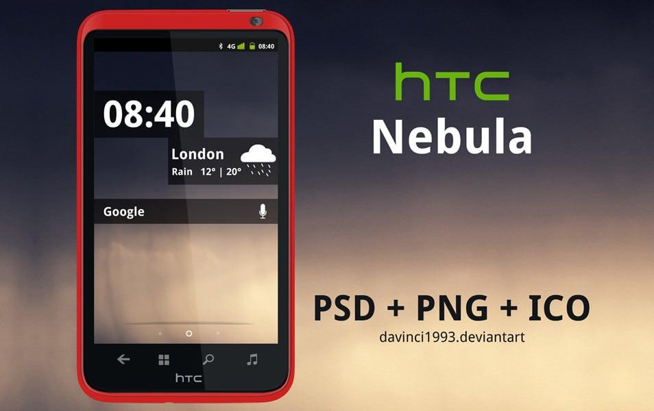 HTC Nebula PSD