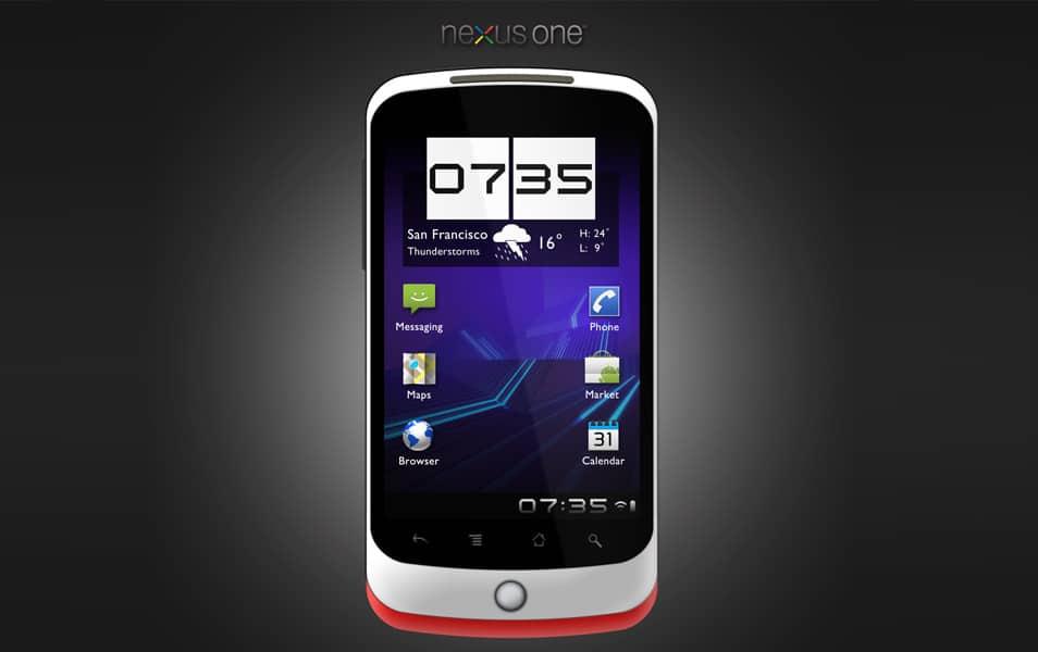 HTC Nexus One PSD