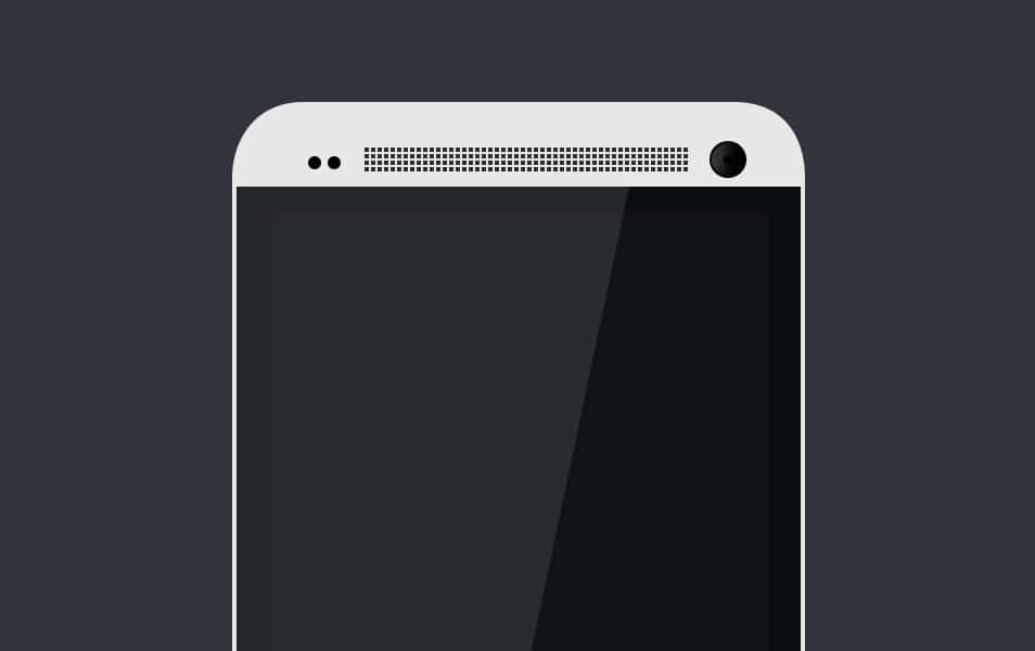 HTC ONE TEMPLATE PSD