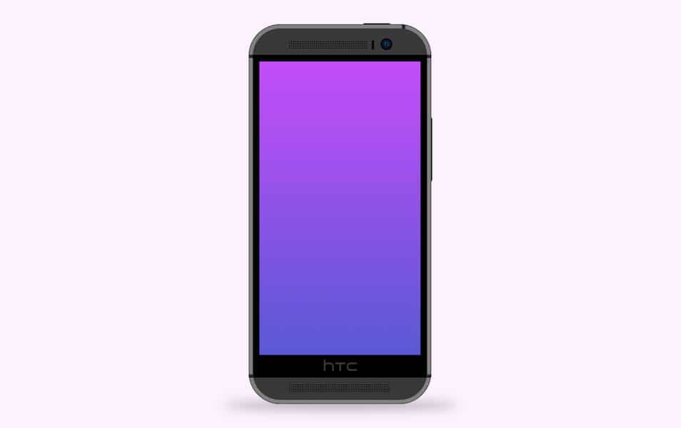 HTC One M8 .Sketch File